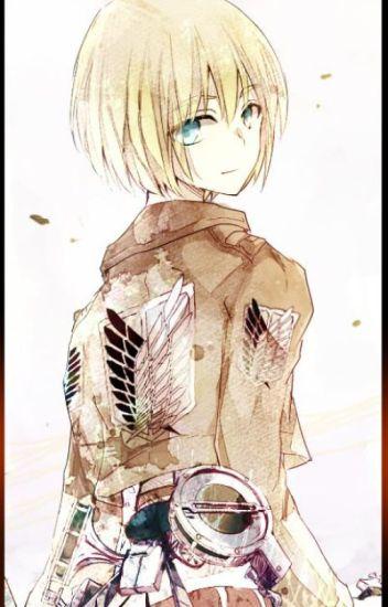 A Little Ray of Sunshine - Bullied!Armin X Bullied!Reader