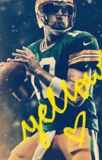 Yellow • Aaron Rodgers • by rodgersbabygirl
