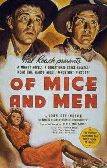 """an analysis of george in john steinbecks of mice and men 80 quotes from of mice and men: """"i can still tend the rabbits, george i didn't mean no harm, george"""" ― john steinbeck, of mice and men 95 likes like."""