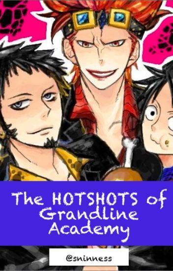 The hotshots of Grandline Academy (One Piece fanfic) BOOK 1
