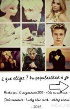¿ que eliges ?  tu popularidad o yo ♡jelsa♡ by Fefa_97