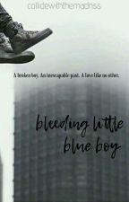 Bleeding Little Blue Boy (Kellic) BoyxBoy by collidewiththemadnss