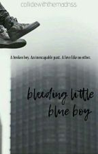Bleeding Little Blue Boy (Kellic) BoyxBoy by collidewiththemadnss