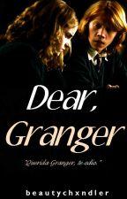 Dear, Granger - Romione. by beautifulyoongi