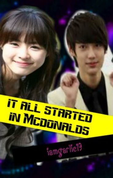 it all started in McDonalds  (one shot) on hold by iamgarlic19