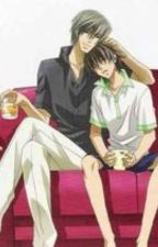Lean on Me (Junjou Romantica) by sewer_pickles