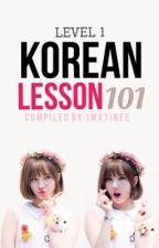 Korean Lesson 101 Level 1 by imxtinee