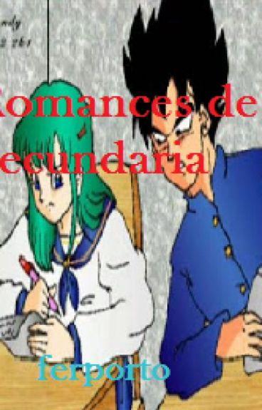 Romances de Secundaria (Vegeta y Bulma)