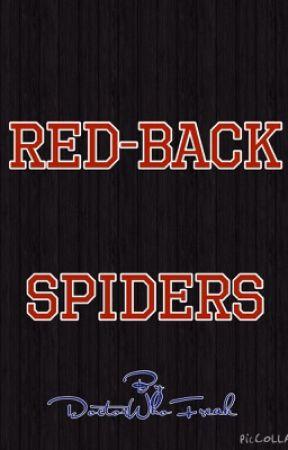 Red-Back Spiders by DoctorWhoFreak