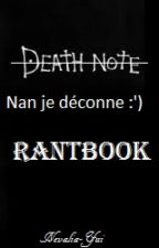 Mon RantBook, journal d'un clown. by Nevalia-Yui