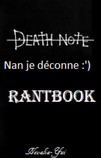 Mon RantBook, journal d'un clown.