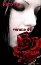 Reto de verano de Wattvampiros by lovebooks_2001