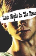 Last Night in the Maze (Newt x Reader Oneshot) by rebekkahstanley
