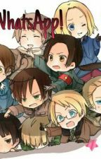 WhatsApp Hetalia! by MadieStrawb