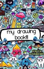 My drawing book! by EllieDonks