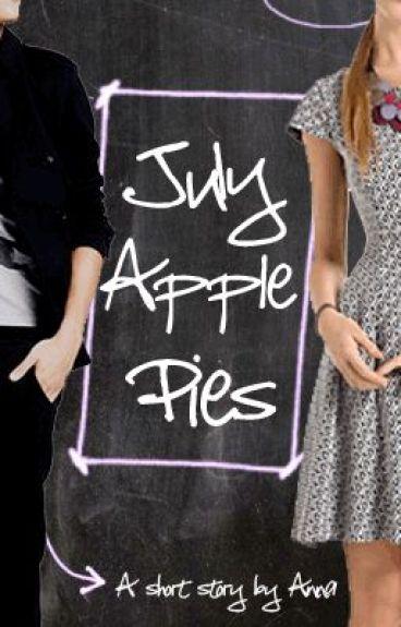July Apple Pies