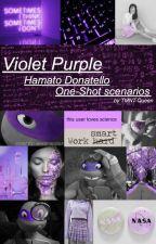 Violet Purple: Hamato Donatello one-shot scenarios by TMNT-Queen