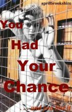 YOU HAD YOUR CHANCE . . . and you lost it by aprilbrookshire