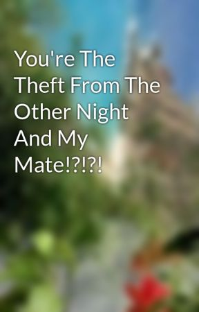 You're The Theft From The Other Night And My Mate!?!?! by bebebonita