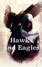 Hawks and Eagles by ArvaleeKnight