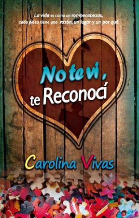 No te vi, te reconocí © Publicada en Amazon by crln25