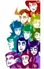7 Minutes In Heaven with the homestuck trolls! by Blueberry_Orion