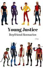 Young Justice Boyfriend Scenarios by -Cloy-