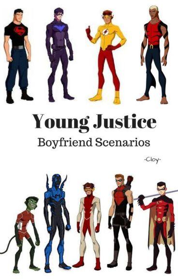 Young Justice Boyfriend Scenarios