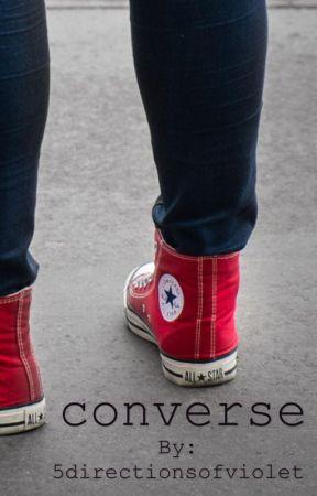 converse {m.g.c} au by 5directionsofviolet