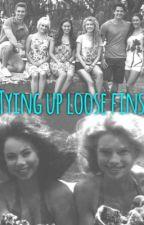 Tying up loose fins by LazyDaisyLizey