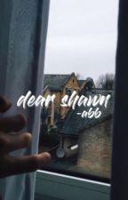 dear shawn ; sm by DONTWANTYOURLOVE