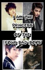 I am the Princess of the Four Bad Boys(ON-HOLD) by lirpamae