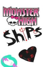 Monster High Ships by mizukibubbles