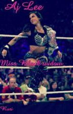 """WWE Aj Lee """"Miss Black Widow"""" by RoriBelle"""