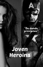 Joven Heroína|Steve Rogers y tú| by omgtxd