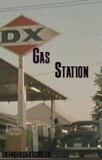 Gas Station by greasersarecooler