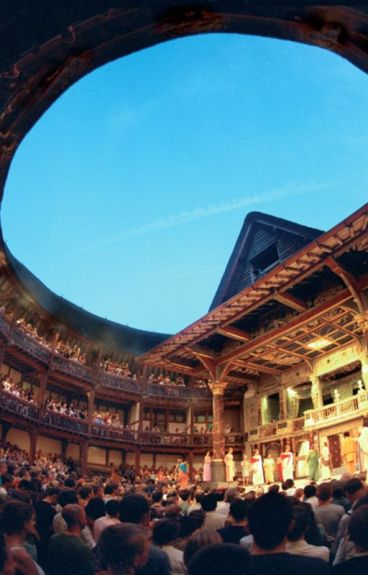 Consolidated Visions of the Past and the Globe Theatre by TrevorMcClintock