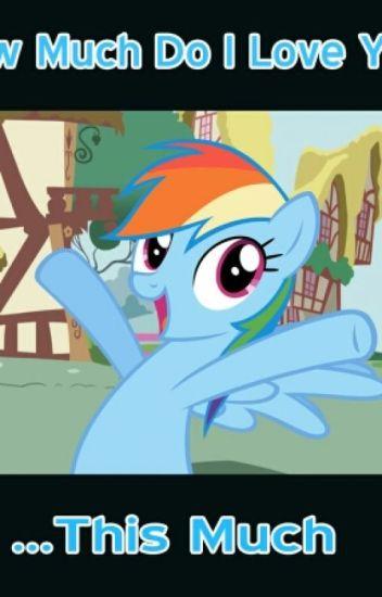 Mlp Rainbow Dash x Reader(Mare,Pegasus)