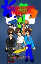 Splattered Heroes(Team Crafted x Splatoon) by wildface1010