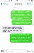 Message Texte by crossandmind
