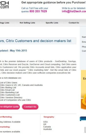Citrix User Database | Citrix Users List - listtechnology - Wattpad