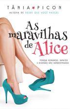 As Maravilhas de Alice (degustação) by TaniaPicon