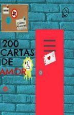 200 Cartas de Amor. Wattys2015 by Ca00AM