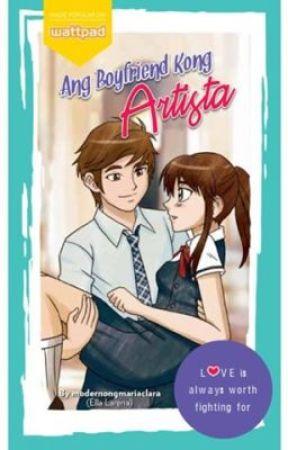 Ang Boyfriend Kong Artista. [Published book] by modernongmariaclara