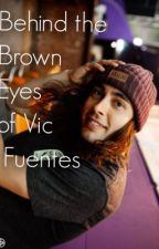 Behind the brown eyes of Vic Fuentes by kaorichavez