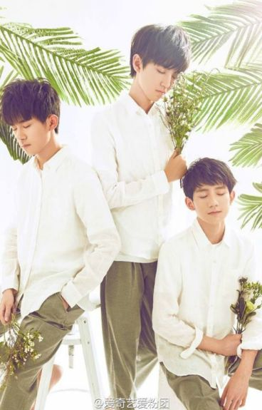 TFBoys and girl lovely