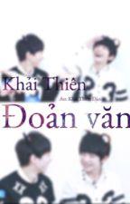 Khải Thiên - Đoản văn by DchNghi