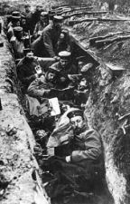 World War 1 Trenches by icantthinkof