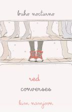❀red converses {rap monster} by BuhoNocturno