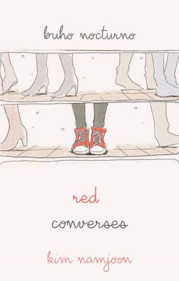 ❀red converses {rap monster}